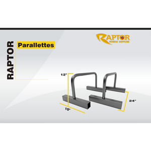 Raptor Steel Parallettes