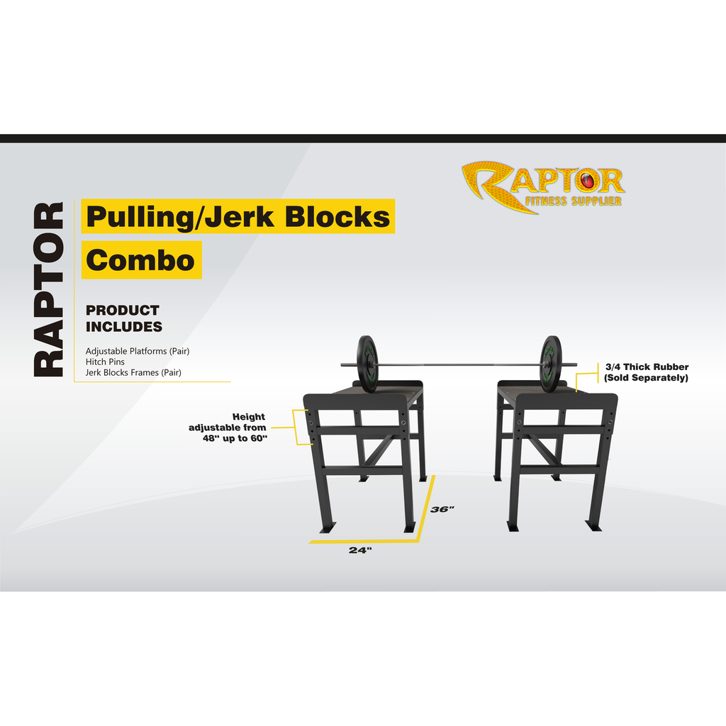 Raptor Pulling & Jerk Blocks Combo