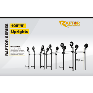"Raptor Series 108"" Uprights (pair)"