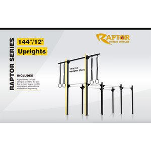 "Raptor Series 144""/12' Uprights (Pair)"