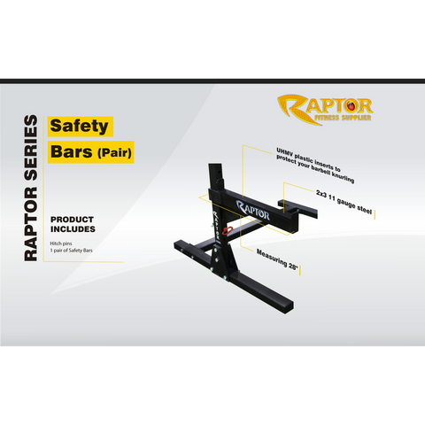 Universal Raptor Series Safety Bars (Pair)