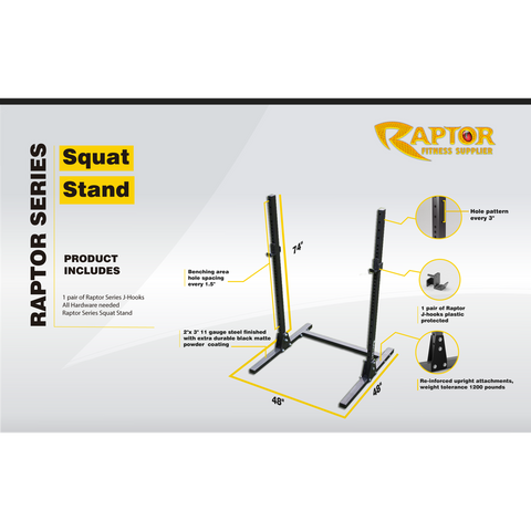 Image of Raptor Squat Stand 5 Units