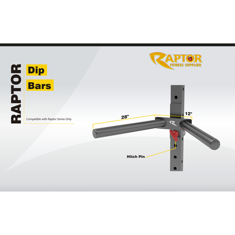 Raptor Series Universal Dip Bars