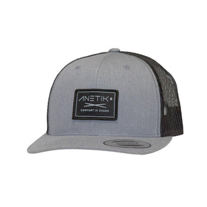 HEATHERED GREY / BLACK