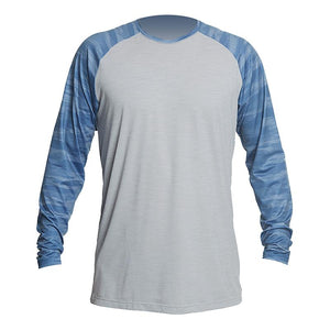 MENS - REMIX RAGLAN TECH L/S