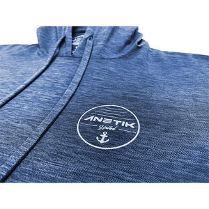 NAVY HEATHERED