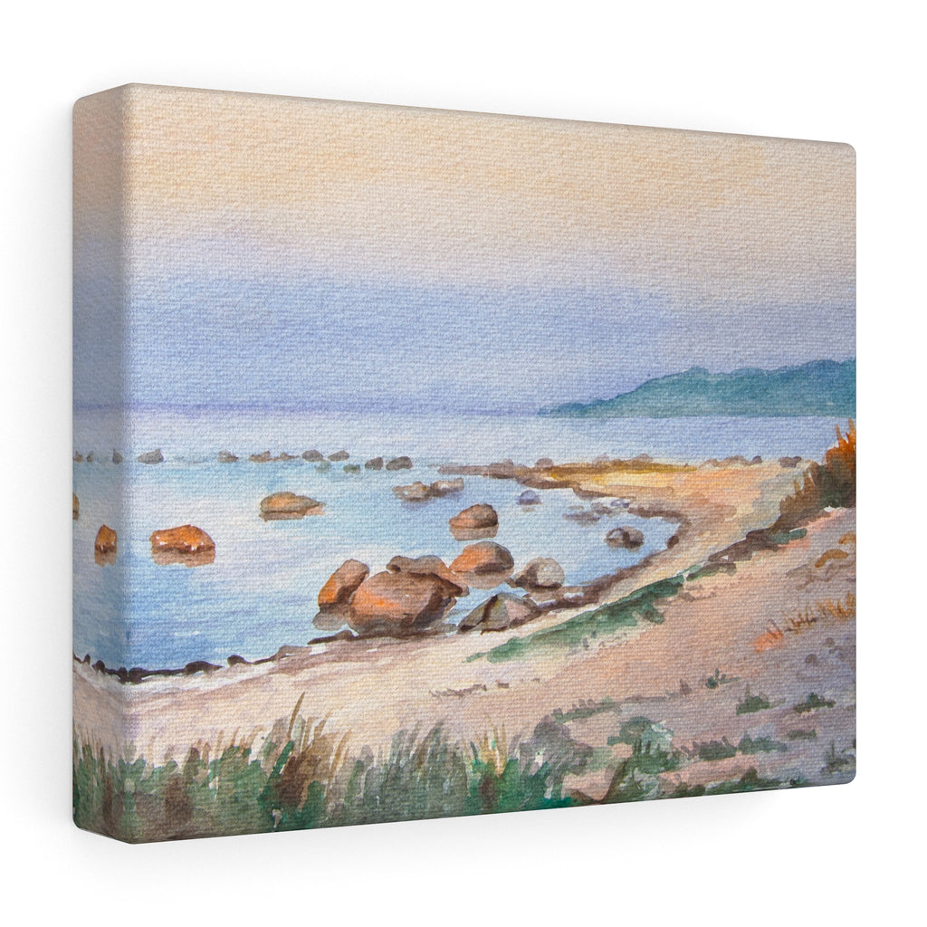 Wall Art Beach Motif on Canvas - westcoast Sweden