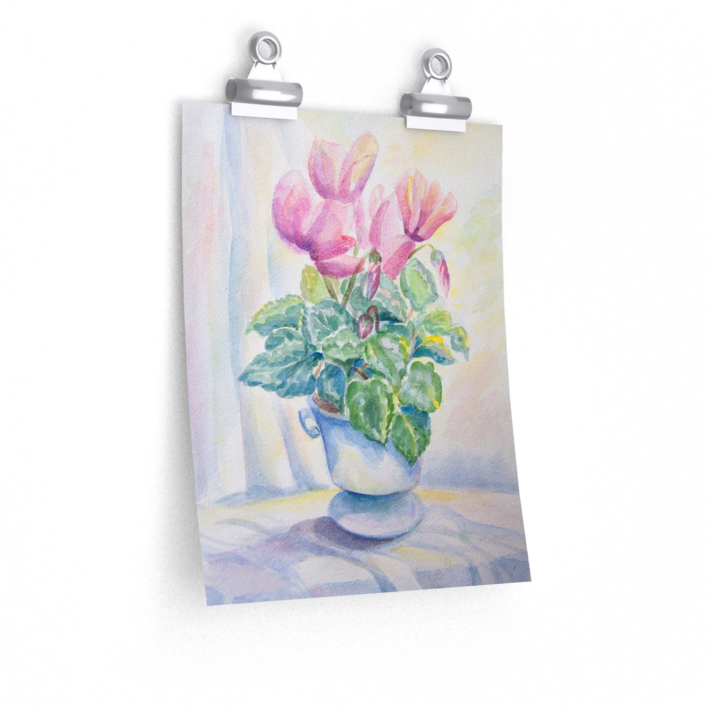 Pink flowers - Poster