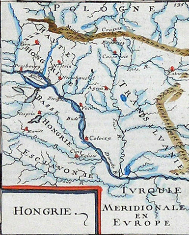 Maps of Hungary