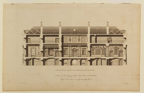 Selection of Sir Gregory Page's Bar House at Black Heath