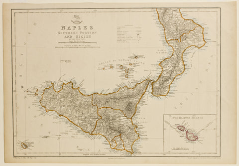 Naples Southern Portion and Sicily