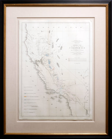 Geological Map of a Part of the State of California