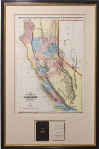 A New Map of the California Gold Region