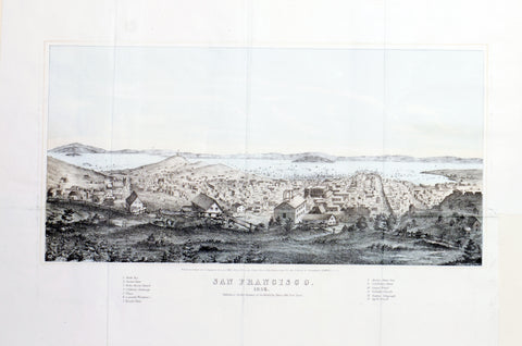 Panoramic View of San Francisco (1852)