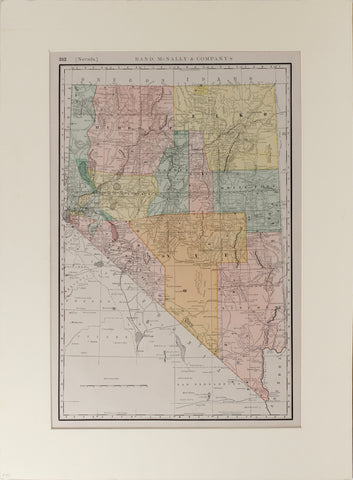 Rand, McNally & Company's Nevada