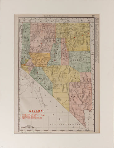 Rand McNally & Co.'s Nevada