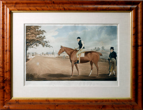 Portrait of Mr. Thos. George of Henley near Ludlow, and his Mare 'Little Thought of'