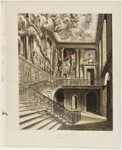 Grand Staircase, Hampton Court