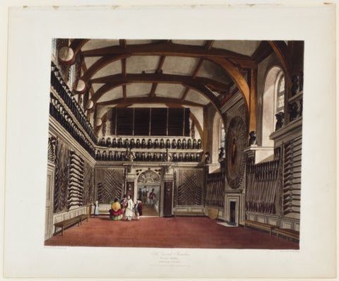 Old Guard Chamber, Round Tower, Windsor Castle