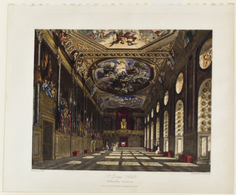 St. George's Hall, Windsor Castle