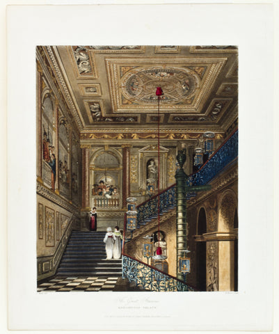 The Great Staircase, Kensington Palace
