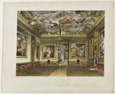 The King's Draning Room, Windsor Castle