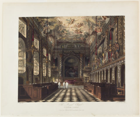 The Royal Chapel, Windsor Castle