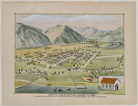 Copy of Birds Eye View of Ketchum