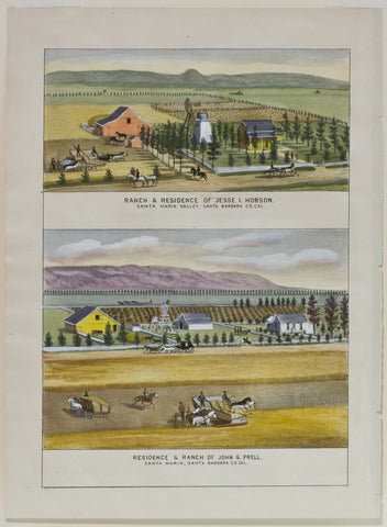 Residence and Ranch of John G Prell
