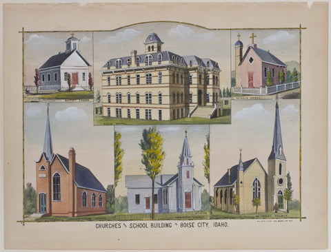 Churches and school Building of Boise