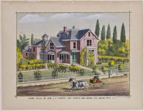 Home Villa of Gen. L.F. Cartee