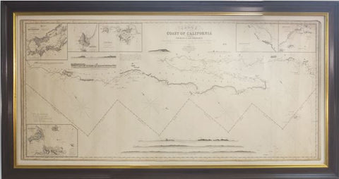 Chart of the Coast of California