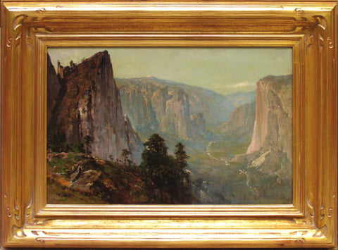 """Westward View from Union Point, Yosemite Valley"""