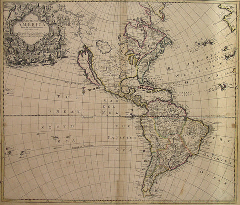 New Map Of America.A New Map Of America From The Latest Observations