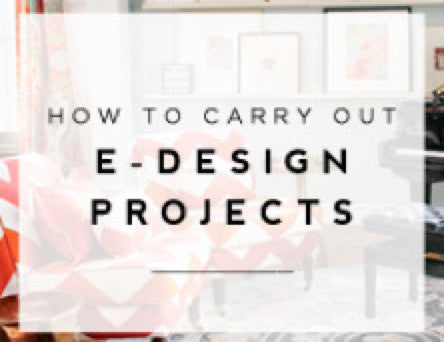 How to do E-Design, Online Interior Design