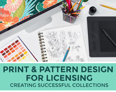 Print & Pattern Design for Licensing
