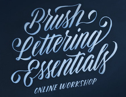 Brush Lettering Online Workshop