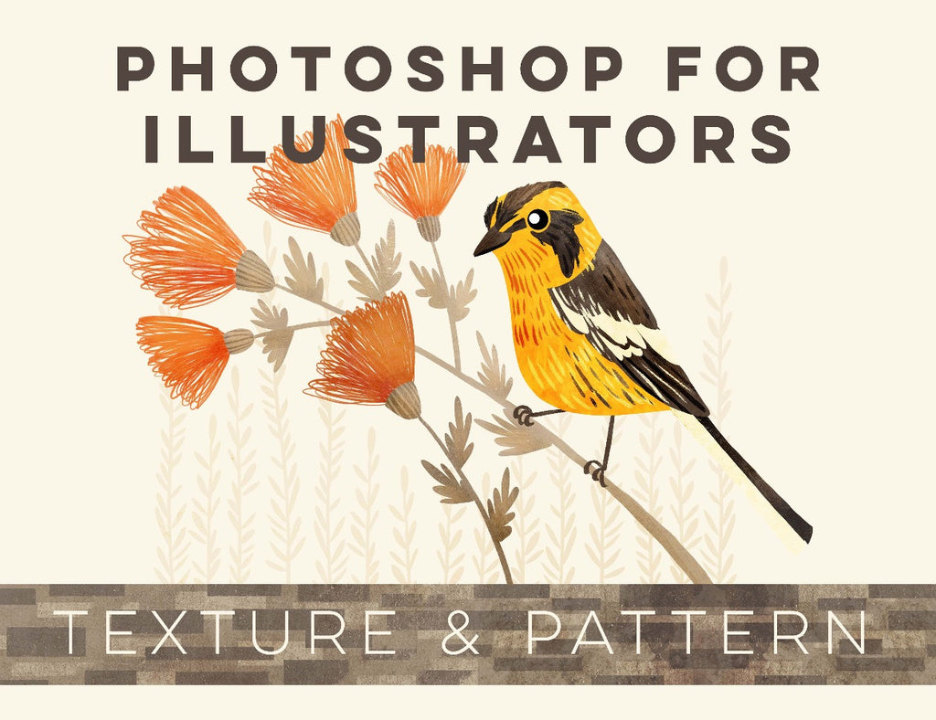 Photoshop for Illustrators: Texture & Pattern