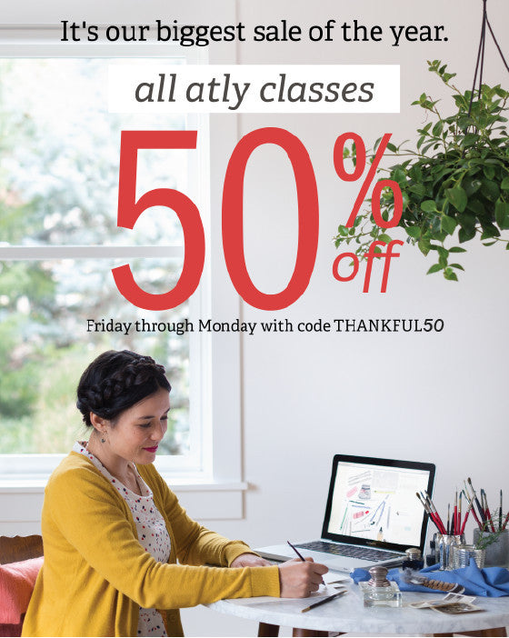atly weekend sale