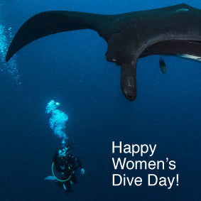 Inspire a girl to try diving...
