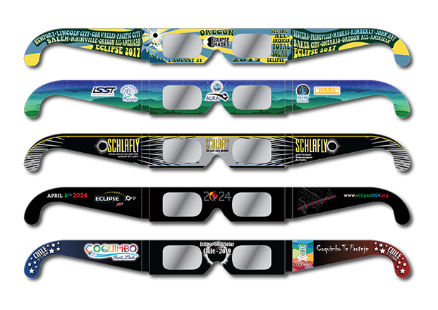 Collection of Eclipse Glasses