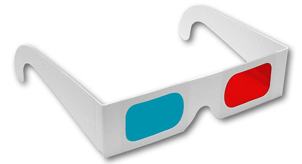 Anaglyph 3D Glasses Work