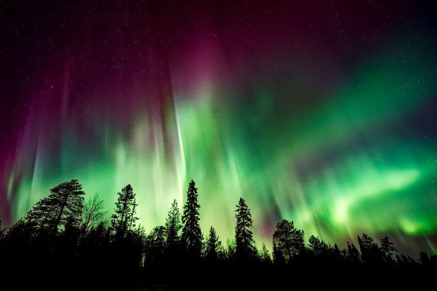 what makes northern lights