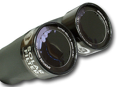 solar filter on binoculars