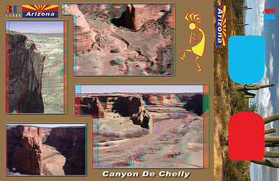 3D Postcards - Arizona National Park