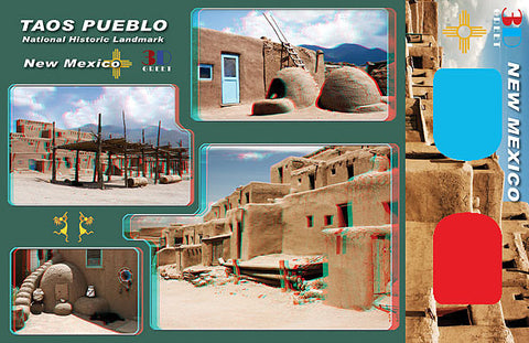 3D Postcard - New Mexico 2