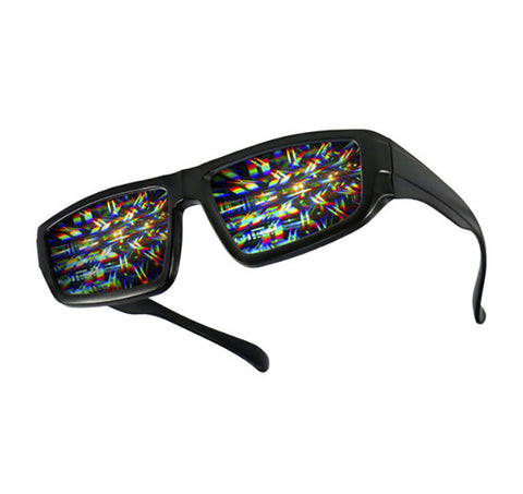 plastic rave diffraction glasses
