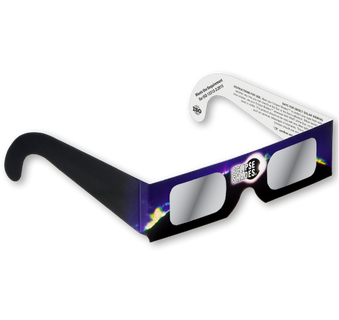 Eclipse Glasses - Safe Solar Glasses - Eclipse Shades®- Safe for Direct Solar Viewing of Solar Eclipses, Sunspots and Planetary Transits.