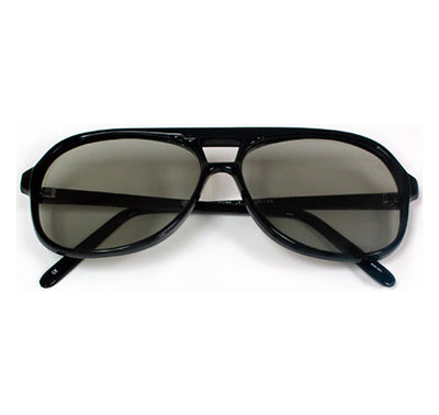 plastic polarized 3d glasses captain style