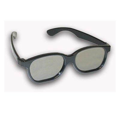 plastic linear polarized 3d glasses 45/135